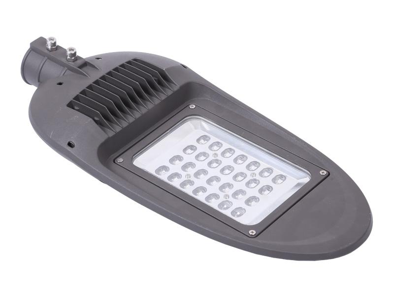 5 años de garantía Carcasa de aluminio IP65 100-160LM / W Farola LED