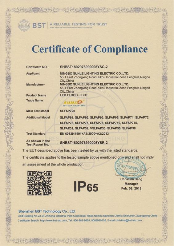 Proyectores IP65